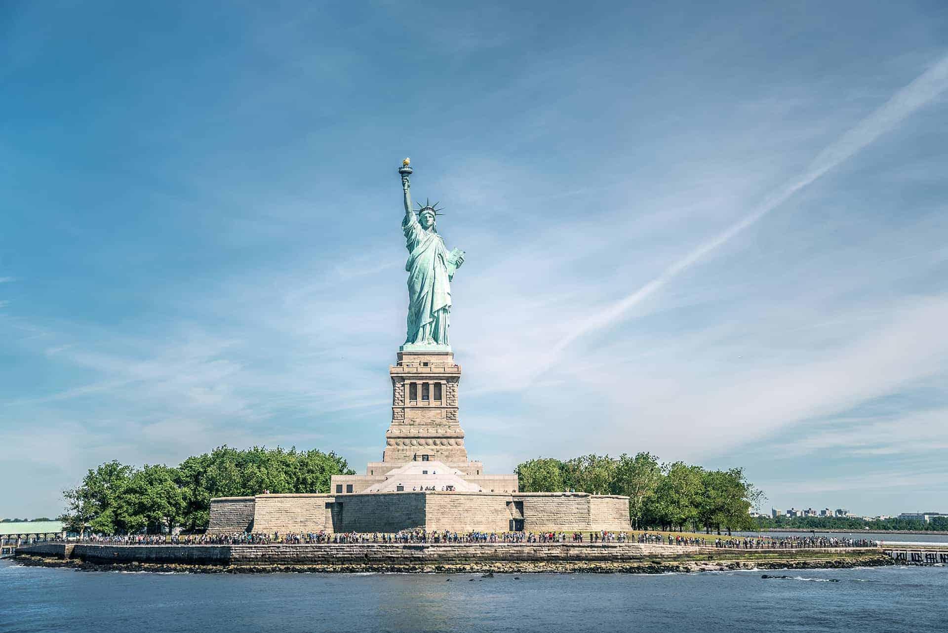 ticket statue de la liberte