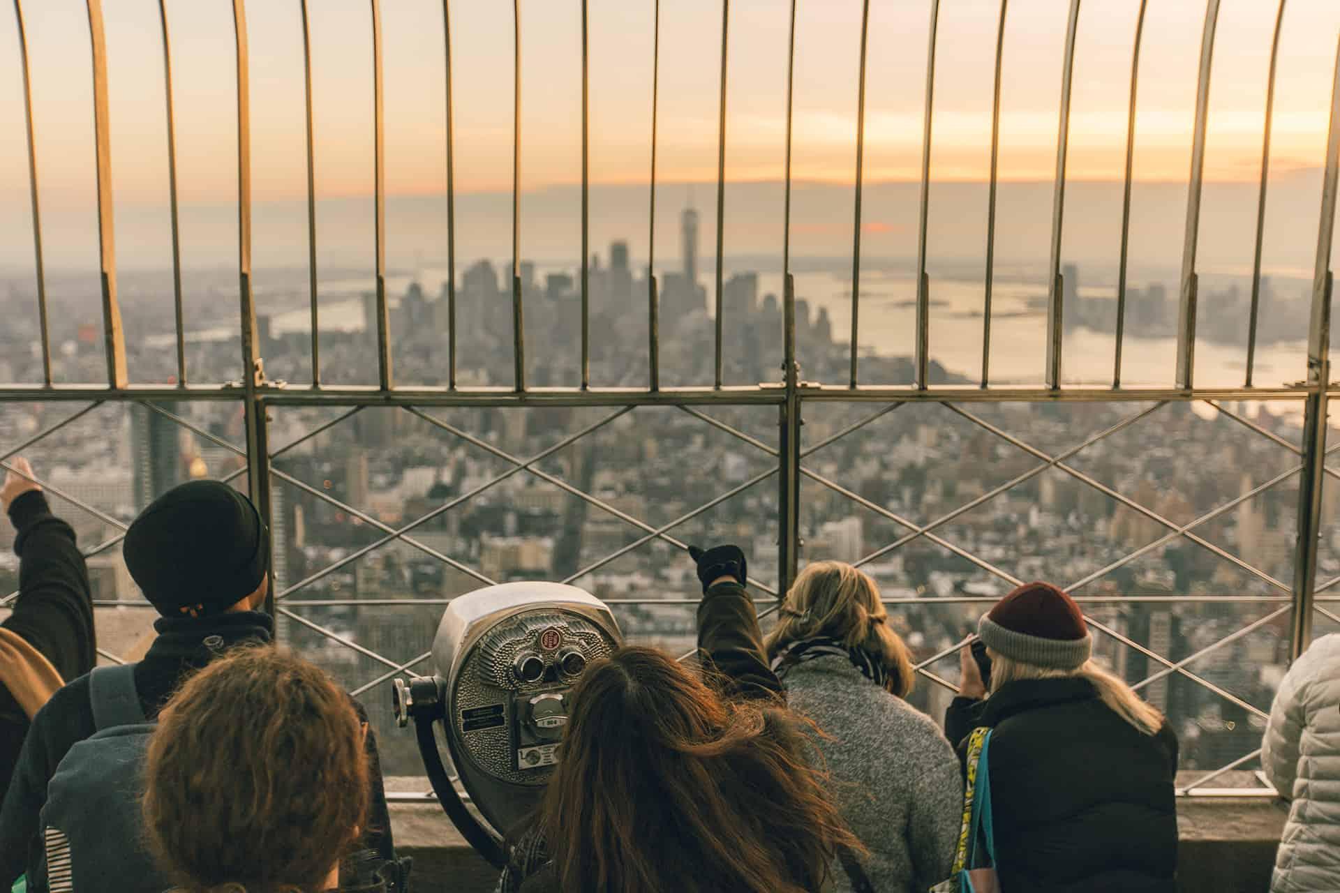 vue depuis esb new york