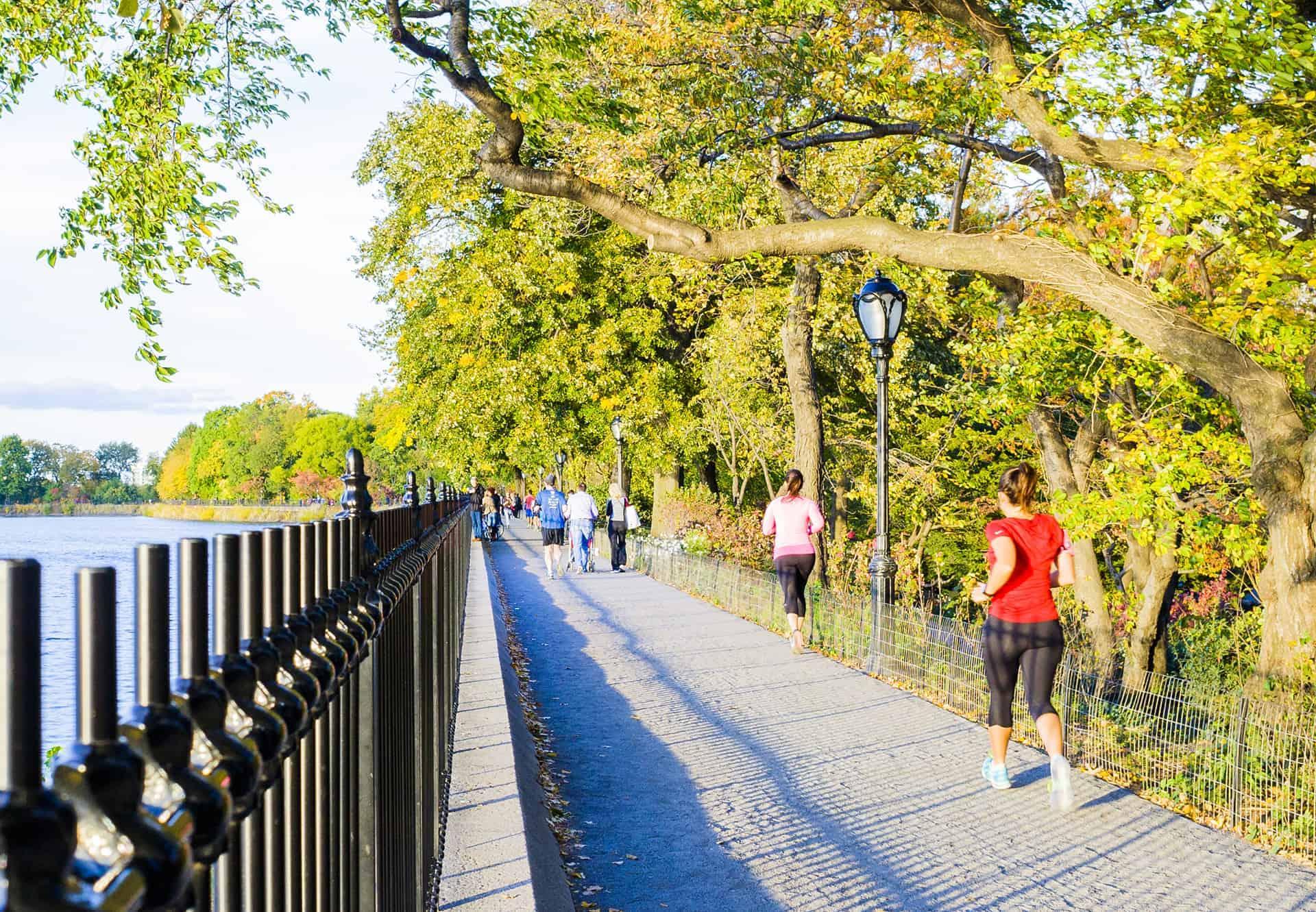 courir autour du reservoir new york