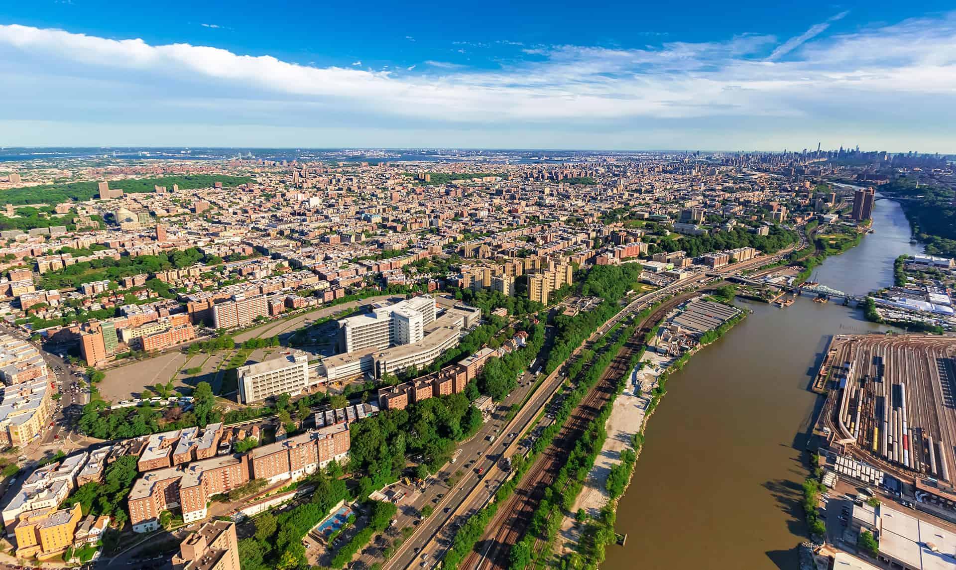 decouvrir borough bronx new york