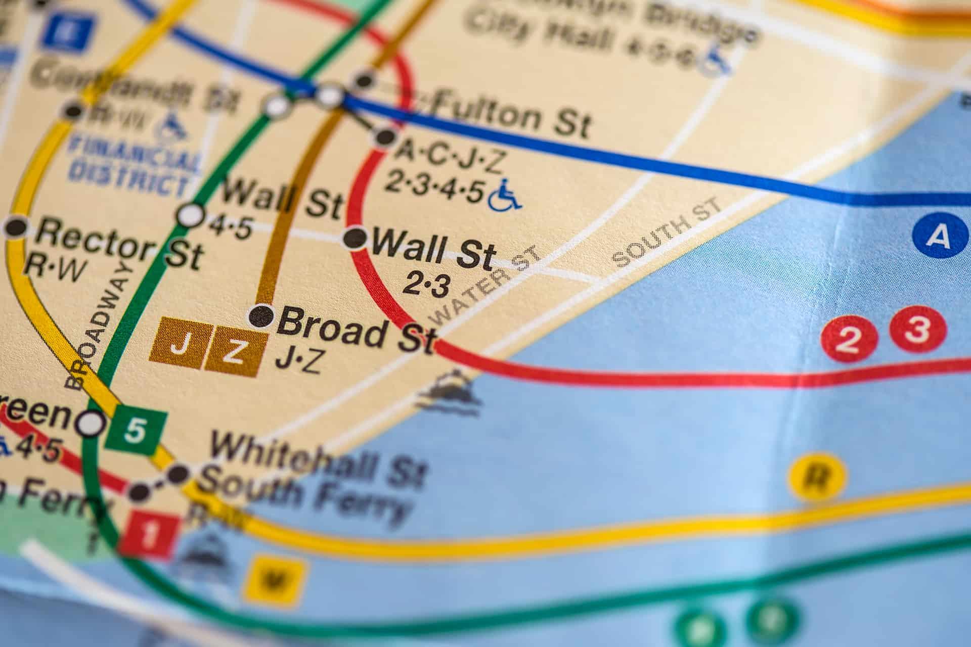 carte metro new york