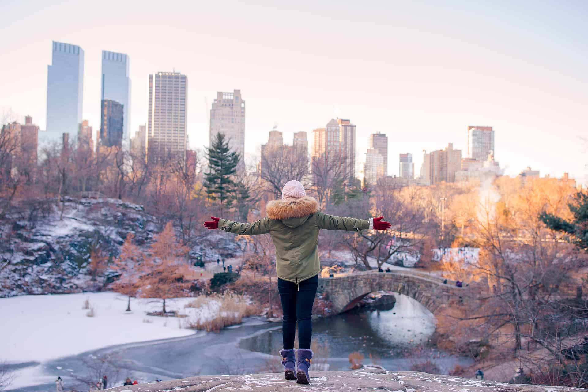 hiver central park