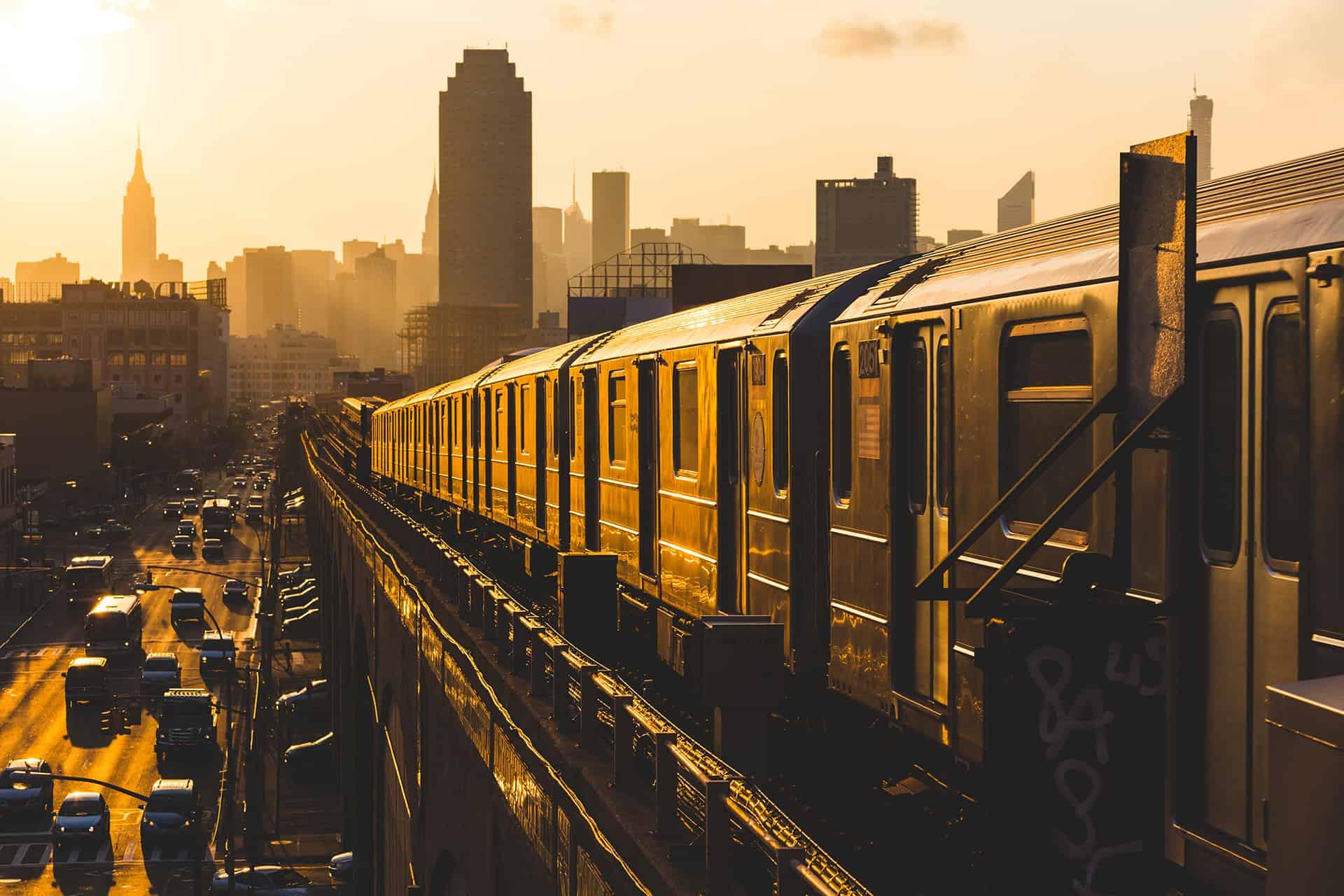 train new york