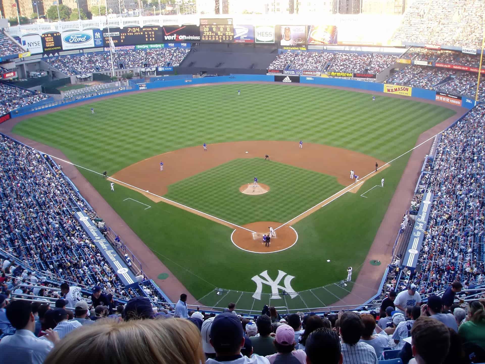 match baseball new york yankees