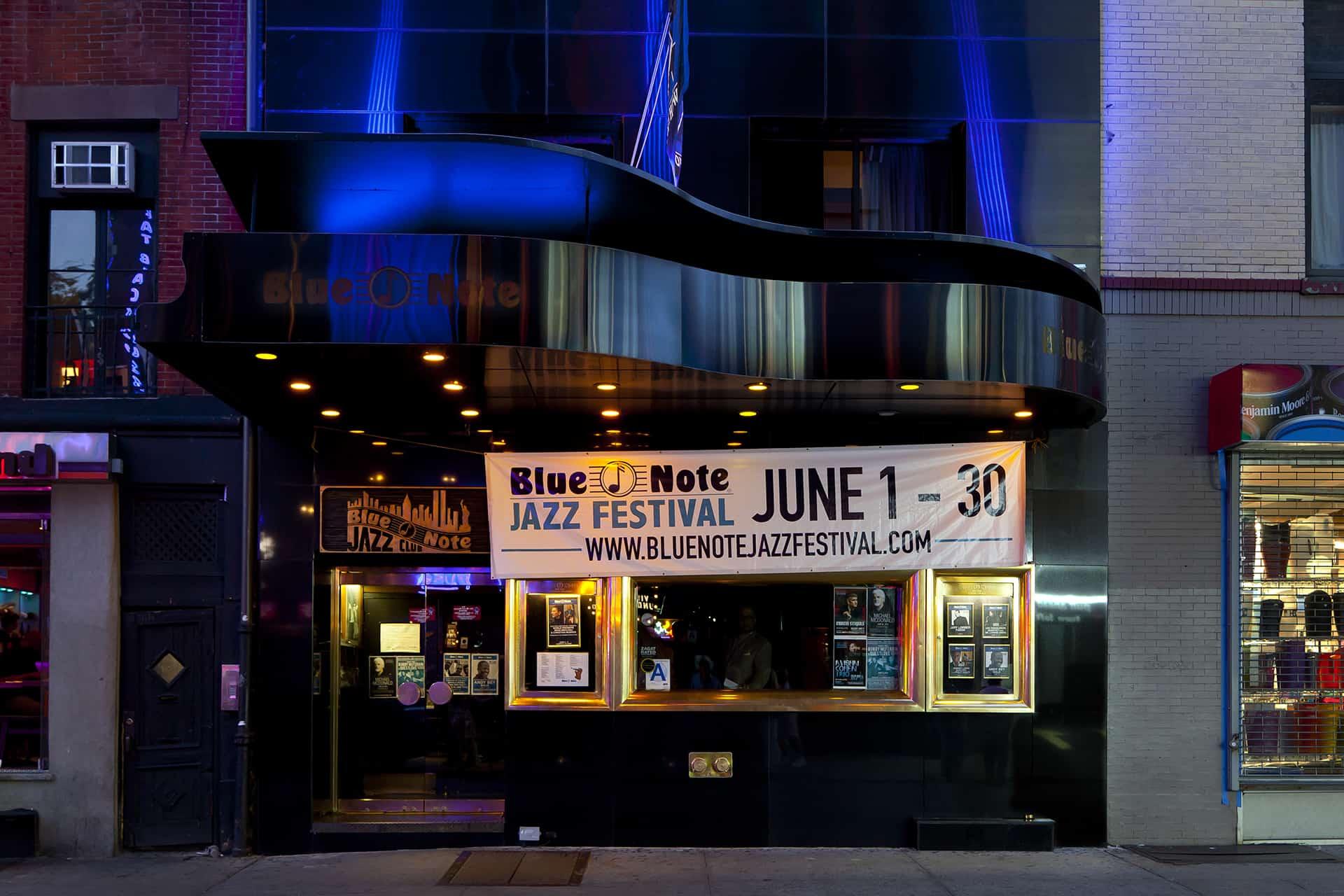 blue not club jazz
