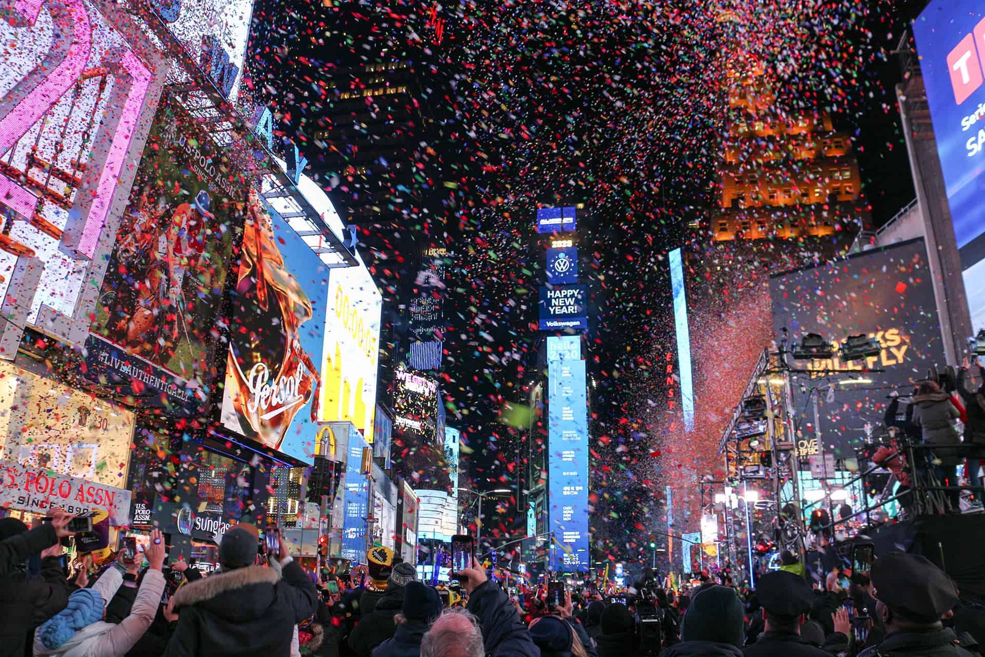 reveillon new york times square