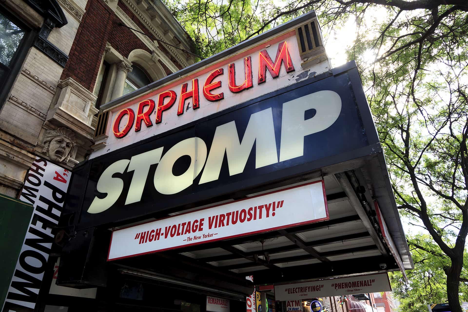 stomp new york