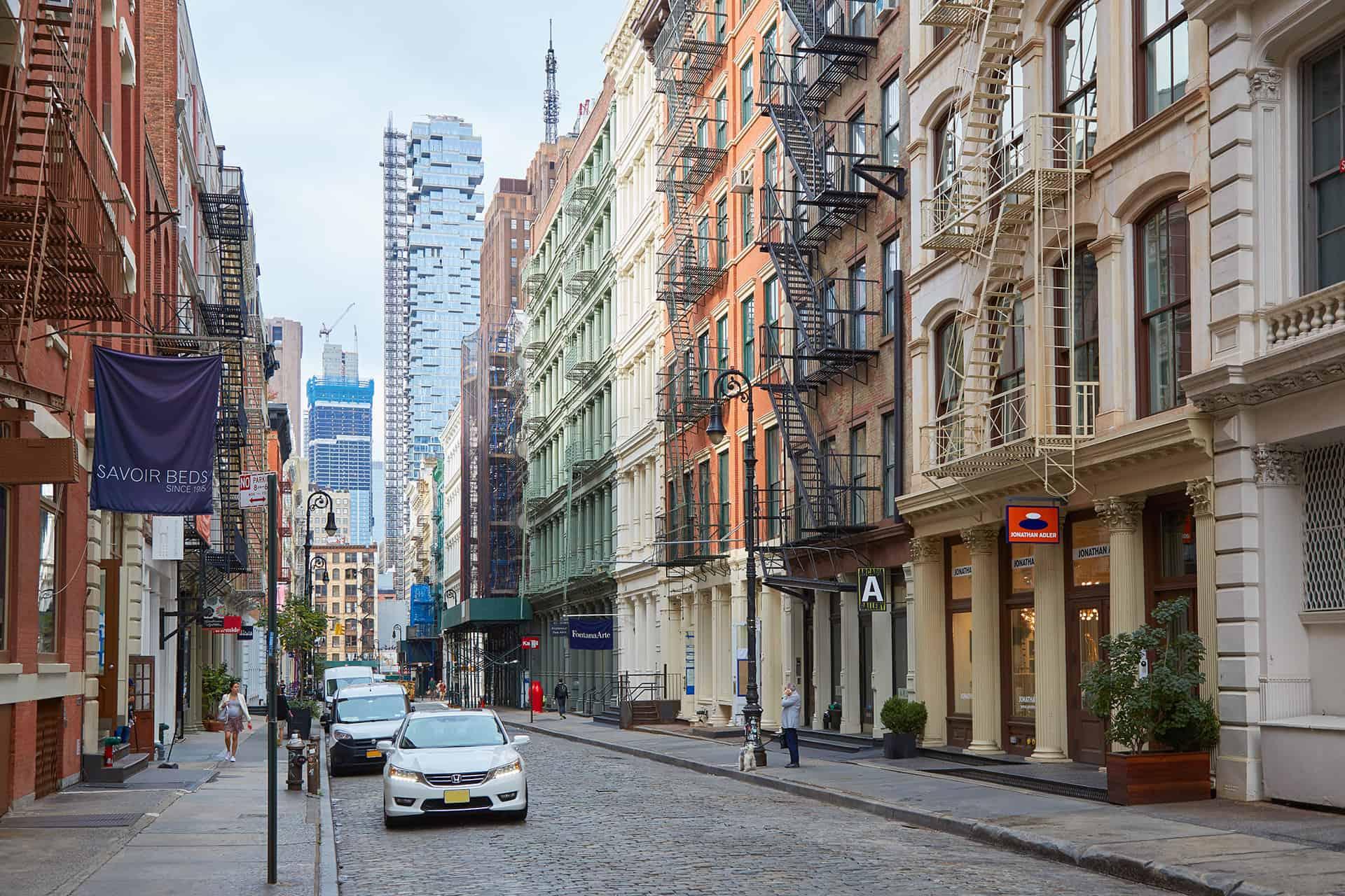 architecture batiment new york