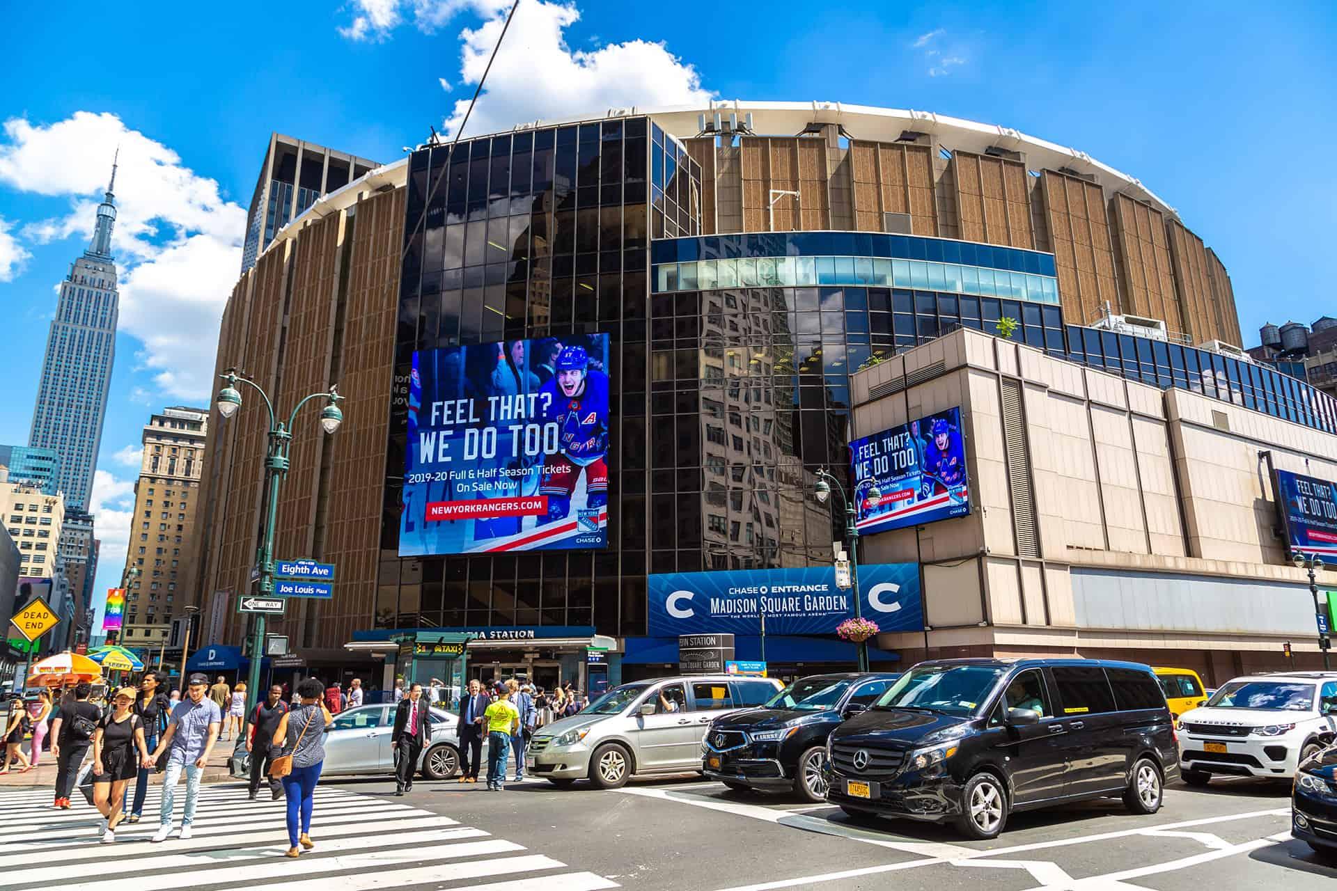 match de basket new york
